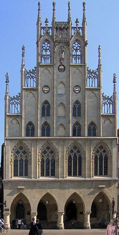 Rathaus Münster, Germany