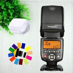 Yongnuo YN560 IV YN-560 IV Wireless Universal Flash Speedlite For Canon Nikon Pentax Olympus Fujifilm Panasonic Sony A99 Camera