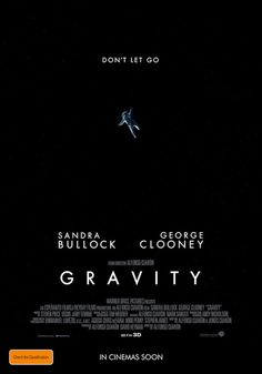 Gravity (2013) Official Poster #film