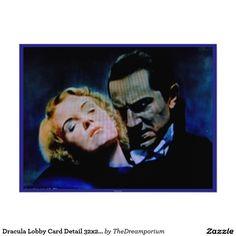 Dracula Lobby Card Detail 32x24 Photo Print