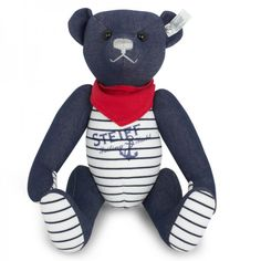 Steiff Teddy Bears Denim Seaside Bear at alexandalexa.com