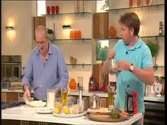 JAMES MARTIN Saturday Kitchen and RICHARD BERTINET  Fougasse with chickpea and olive oil purée  pesto and tapenade