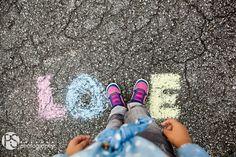 photo shoot idea, kids photography, chalk photo shoot copyright PS Photography | www.PSphotography.net