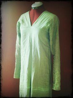 Reconstructing finnish Eura style dress, step one: the undergarment :)
