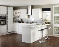 White Gloss Howdens Kitchen   https://www.howdens.com/kitchen-collection/kitchen-families/clerkenwell-gloss/clerkenwell-gloss-white/