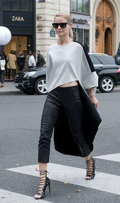 Street Style | Paris Fashion Week More Street Style HERE…