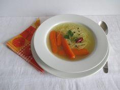 Húsleves cérnametélttel Thai Red Curry, Ethnic Recipes, Food, Essen, Meals, Yemek, Eten
