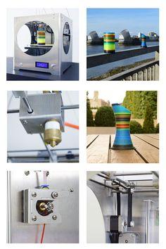 フィラメントを混ぜてフルカラープリントができる3Dプリンター「3D4C」が登場!