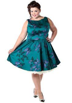 The Teal Green Butterfly Teamekko https://www.misswindyshop.com  #dress #teal #vintage #fifties #retro #butterfly #print #petticoat #circle #party #petticoat #green #turquoise