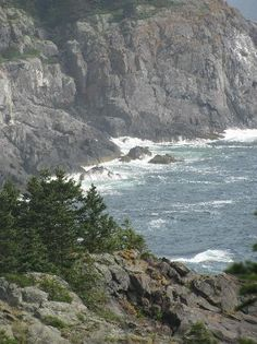 the cliffs of Monhegan Island, Maine, these are the highest cliffs on the Eastern seaboard. absolutely awesome and I have been there!!! My Favorite place in the world. You need to experience this in order to understand.!!!