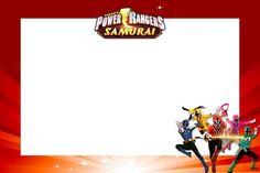 <center>Power Rangers Samurai</center>   Montando minha festa