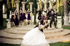 California Real Wedding: Heather and Zachary. Site: Grand Island Mansion / Photographer: Sarah Duncklee Photography.