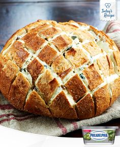 What's the best thing since sliced bread? Pull apart bread, with Philly Jalapeño of course!