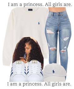 """"""""""" by leshabest ❤ liked on Polyvore featuring Polo Ralph Lauren and adidas"""