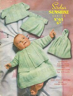 Sirdar Sunshine 63 Vintage Knitting by vintagemadamedefarge, $2.00