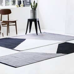 Our Horizon collection has been made from a blend of wool and recycled fishing nets. White Rug, Grey And White, Next Rugs, Carpet Design, Home Textile, Rugs Online, Rugs On Carpet, Hand Weaving, Fabric