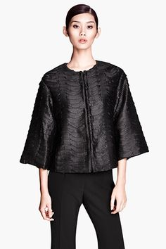 H&M Proves You Can Look Super-Expensive & Stay On Budget #refinery29  Satin Jacket 69.95