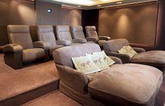 custom & bespoke | CINEAK home theater and private cinema seating - media room furniture - lounge - hospitality - acoustical panelsCINEAK ho...