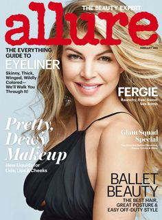 Fergie Allure February 2015 Fashion Beauty Health Fitness Celebrity News  English f8918638829