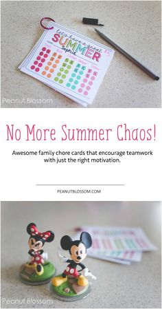 The best summer chore system for kids using these adorable free printables from Thirty Handmade Days. Love the group teamwork aspect that gets even mom and dad involved!