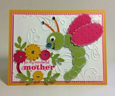 """A new """"Suitably Punched"""" Critter named """"Stella""""...  #diy  #stampinup  #cards  #mother'sday  Pinterest..."""