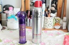 Review: TIGI Bed Head Blow-Out Cream and Flexi Head Hairspray*