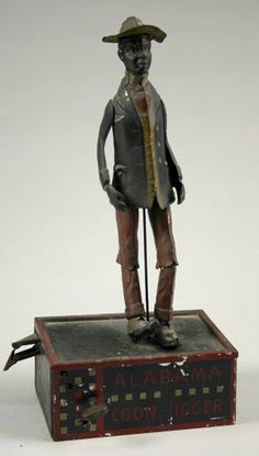 Tin Litho Toy, Alabama Coon Jigger, - Cowan's Auctions