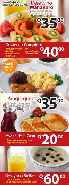 Desayuno mañanero (Guatemala)