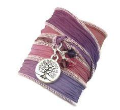 Pretty tree of life bracelet