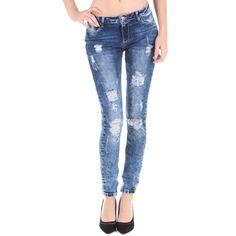 Jeans déchiré et délavé, tendance du moment