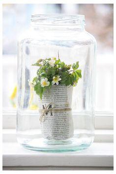 pretty flower display