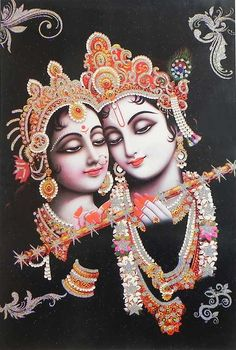 Radha Krishna (Poster with Glitter) (Reprint on Paper - Unframed) Radha Krishna Wallpaper, Radha Krishna Images, Radha Krishna Photo, Krishna Photos, Krishna Art, Radhe Krishna, Lord Krishna, 4k Phone Wallpapers, 3d Paper Art