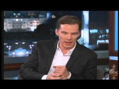 Benedict Cumberbatch on Jimmy Kimmel, 12-4-13, Full Interview!! :-) - YouTube | pin now, watch later