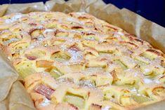 Hawaiian Pizza, Deserts, Baking, Cake, Food, Kitchens, Apple Sour Cream Cake, Choux Pastry, Sheet Cakes