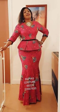 New, Fresh and Trendy Ankara styles - African Fashion Dresses Latest African Fashion Dresses, African Dresses For Women, African Print Dresses, African Print Fashion, Africa Fashion, African Attire, African Prints, Ankara Stil, Ankara Gown Styles