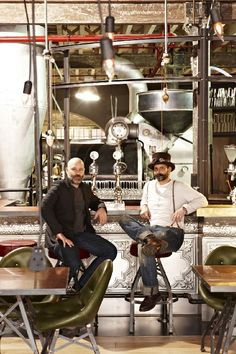 The new Truth HQ in Buitenkant Street, Cape Town, is stranger than (science) fiction. It is steampunk. We chat to owner David Donde and designer Haldane Martin.