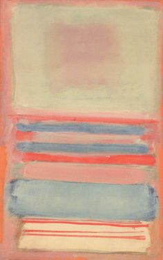 Rothko's soup - Inspiration for shape in the cuts and for color placement