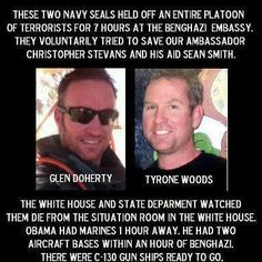 Glen Doherty and Tyrone Woods.. Memorial Day
