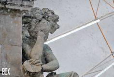 Detail Fontaine des Girondins #Bordeaux #France Photo © Chez moi à Bordeaux