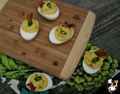 Bacon Cheese Deviled Eggs   Pocket Change Gourmet