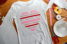 heart t-shirt DIY (10)