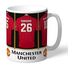 """Manchester United FC""""Old Trafford"""" - Home.Mugs English Premier League Football Stadium Graphic Mug Gift Collection MUFC Manchester City, Manchester United Gifts, Manchester United Football, Chelsea Football Club, Sports Football, Football Gift, Soccer, Arsenal Fc, Tottenham Hotspur"""