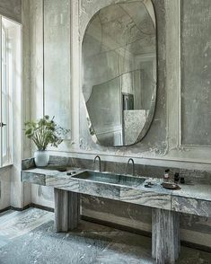"spatula: ""(via Vincenzo De Cotiis villa, Pietrasanta - Tuscany, Italy - The Cool Hunter - The Cool Hunter) "" Casa Jenner, Bathroom Interior Design, Interior Decorating, Marble Interior, Italian Interior Design, Apartments Decorating, Decorating Bedrooms, Beautiful Interior Design, Decorating Ideas"