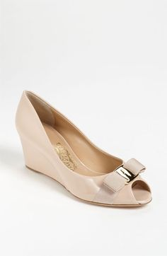 Salvatore Ferragamo 'Sissi' Pump | The perfect go-to-work shoe. I WANTTTT.