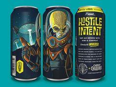 Bottle Logic Campy Creatures Hostile Intent Tart Ale