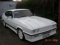 ASTON MARTIN TICKFORD TURBO CAPRI  ONLY 20K  1 FORMER KEEPER For Sale (1984) Ford Capri, Old Fords, Car Ford, Mustangs, Aston Martin, Vintage Cars, Cool Cars, Classic Cars, How To Memorize Things