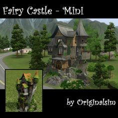 Fairy Castle - Mini by originalsim - The Exchange - Community - The Sims 3