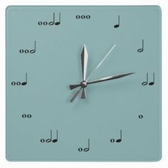 This clock tells time in rhythm. Each number is represented by notes that make up the appropriate number of beats. Great for music-lovers, teachers, and kids learning how to read music! Customize the…More #Latinhouse #Tribalhouse #Garagehouse #techno #HouseMusic #Dutchhouse #soundcloud #Acidhouse #beatport