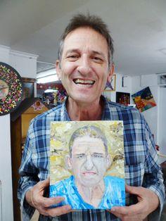 retrato de un desconocido pintado por rodrigo londoño bravo