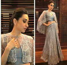 The Art of Choosing A Blouse Design Indien Indian Fashion Dresses, Indian Gowns Dresses, Dress Indian Style, Indian Designer Outfits, Punjabi Fashion, Women's Dresses, Dresses Online, Stylish Dress Designs, Designs For Dresses
